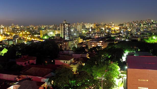 noche en porto alegre